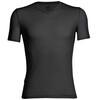 Icebreaker Anatomica SS V Shirt Men black/monsoon